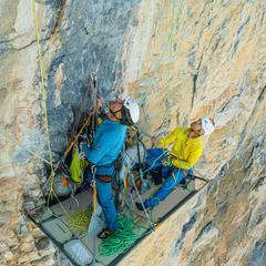 Erstbegehung Silberrücken an der Jungfrau - © Frank Kretschmann