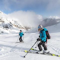 Premières descentes de ski de la saison d'hiver 2019/2020 à Cauterets - © Office de Tourisme de Cauterets