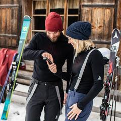 sous vetement de ski connecté et chauffant - © ODLO