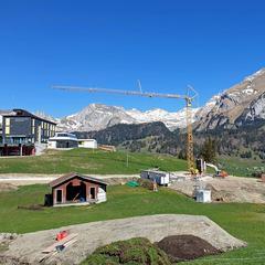 Talstation der neuen Familienbahn Oberdorf-Freienalp - © Bergbahnen Wildhaus AG