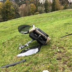 Gondelabsturz in Rickenbach (Rotenfluebahn) - © Kantonspolizei Schwyz