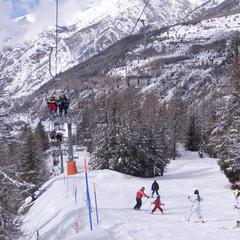 Cogne, rodinné lyžiarske stredisko