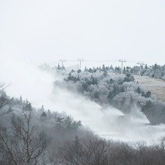 Snowmaking at Stratton Mountain Resort. Photo Courtesy of Stratton Mountain Resort.