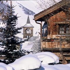 Charme et authenticité de la station village de St Martin de Belleville - ©Office de Tourisme de St Martin de Belleville