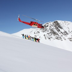 The chopper provides endless terrain at Whistler Heli-Skiing - © Darryl Brennan