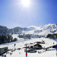 Tirolské lyžiarske stredisko Speikboden