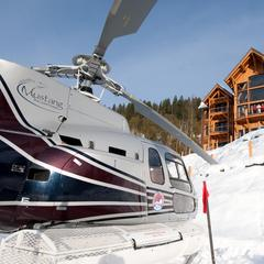 Helicopter pad outside Bighorn at Revelstoke - © Consensio