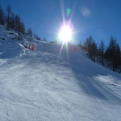 Neve di Primavera sul Monterosa Ski: Freeride e offerte - ©Andrea Corbo