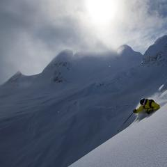 Steep and deep at Northern Escape Heli-Skiing. - © Northern Escape Heli-Skiing