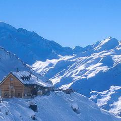 Cabane du Mont Fort, Verbier - © Cabane du Mont Fort