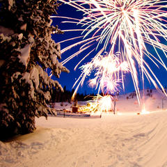 Fireworks at Brundage - © Sam Marvin/LMP Photography