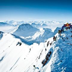 Starting point of the Verbier Freeride World Tour - © Freeride World Tour
