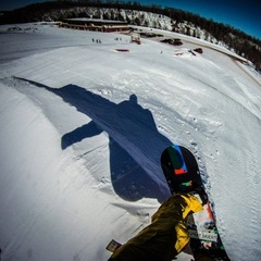 A POV shot from BlackJack. - ©Blackjack Ski Resort