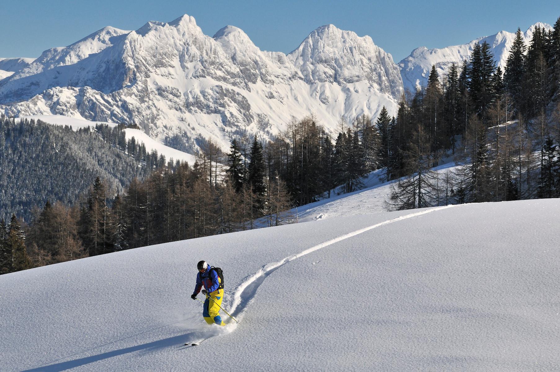 Skigebiet Winklmoosalm