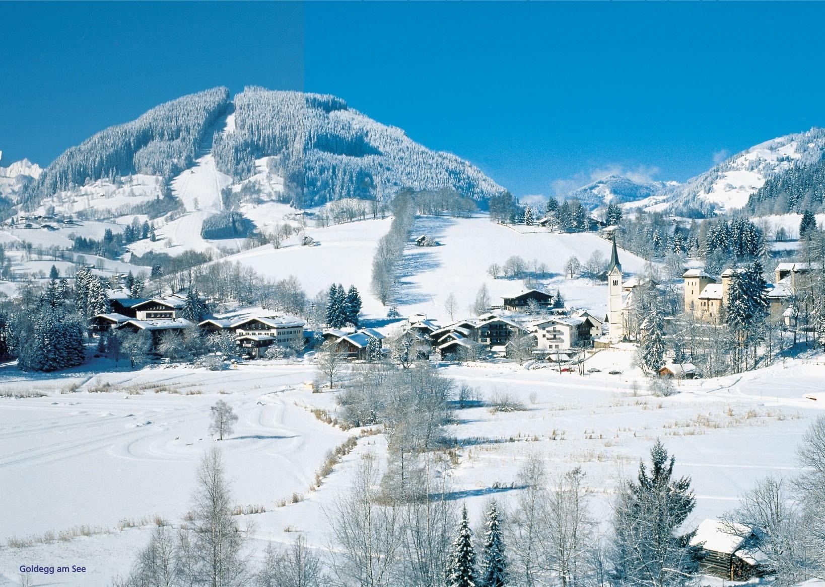 Ski resort Goldegg