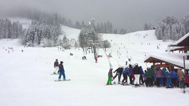 Skigebiet Steckenberg in Unterammergau