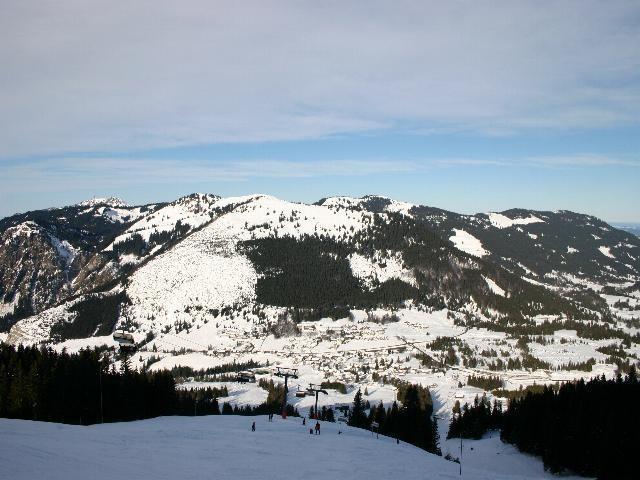 Oberjoch GER panorama