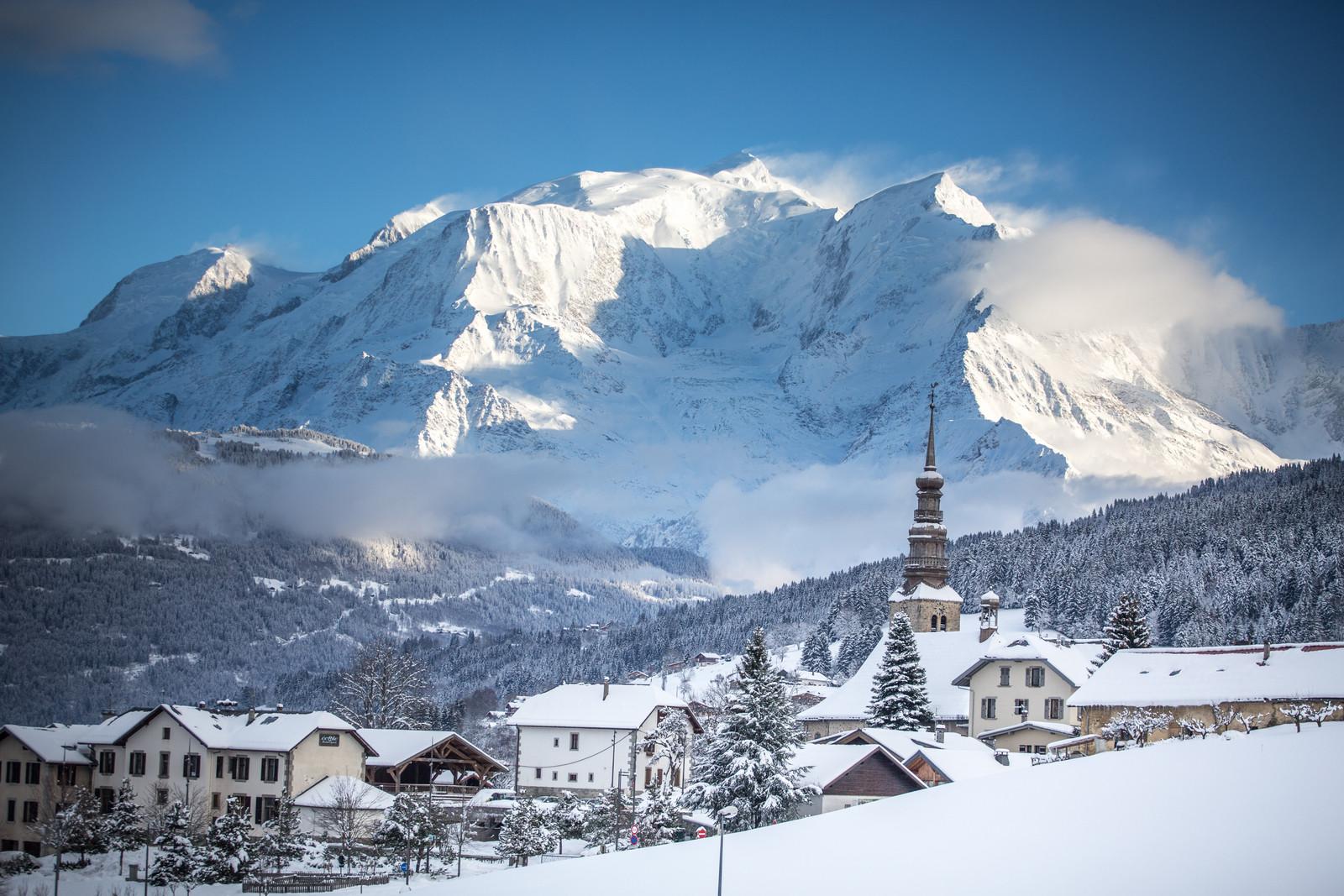 Pretty Combloux Mont Blanc