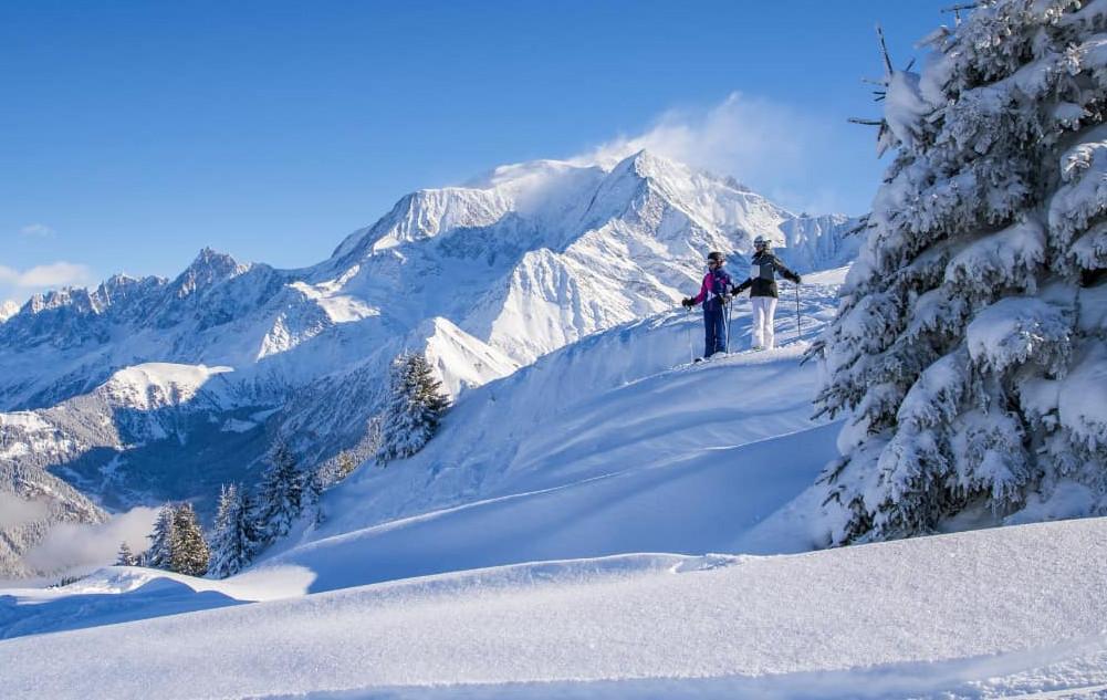 domaine skiable de Saint Gervais