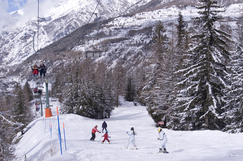 Skiing in Cogne Valley, Val d'Aostaundefined
